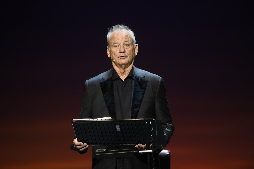 BILL MURRAY PERFORMING AT EDINBURGH'S FESTIVAL THEATRE - 18.06.2018  PICTURE BY: GREG MACVEAN