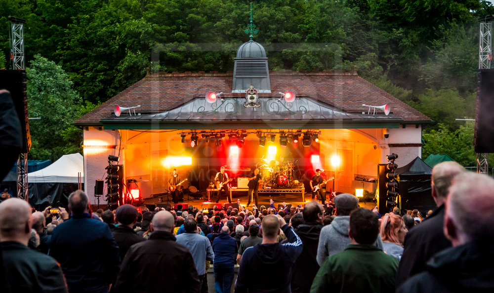 THE SKIDS PERFORMING AT KELVINGROVE BANDSTAND, GLASGOW - 17.06.2018  PICTURE BY: STEPHEN WILSON PHOTOGRAPHY