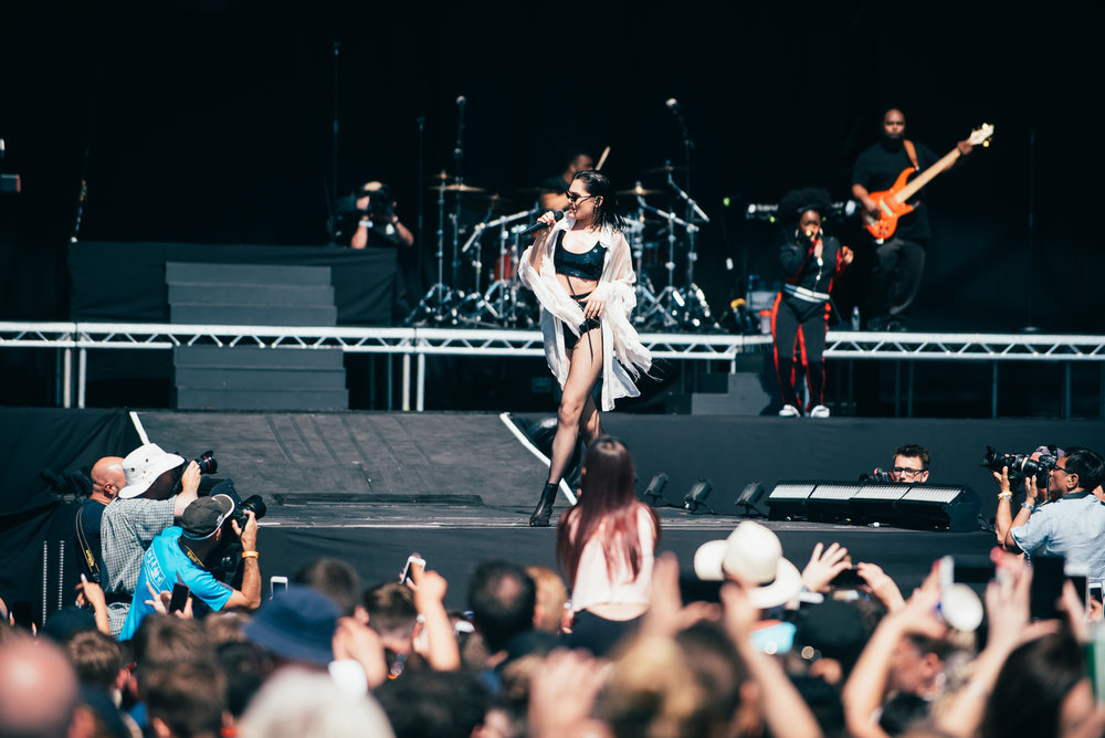 JESSIE J MAKING HER DEBUT APPEARANCE AT TRNSMT FESTIVAL - 29.06.2018  PICTURE BY: TENTU