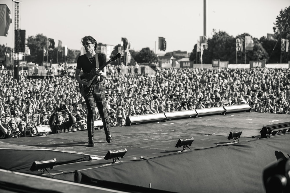 JAMES BAY PERFORMING AT TRNSMT FESTIVAL AT GLASGOW GREEN - 29.06.2018  PICTURE BY: TENTU