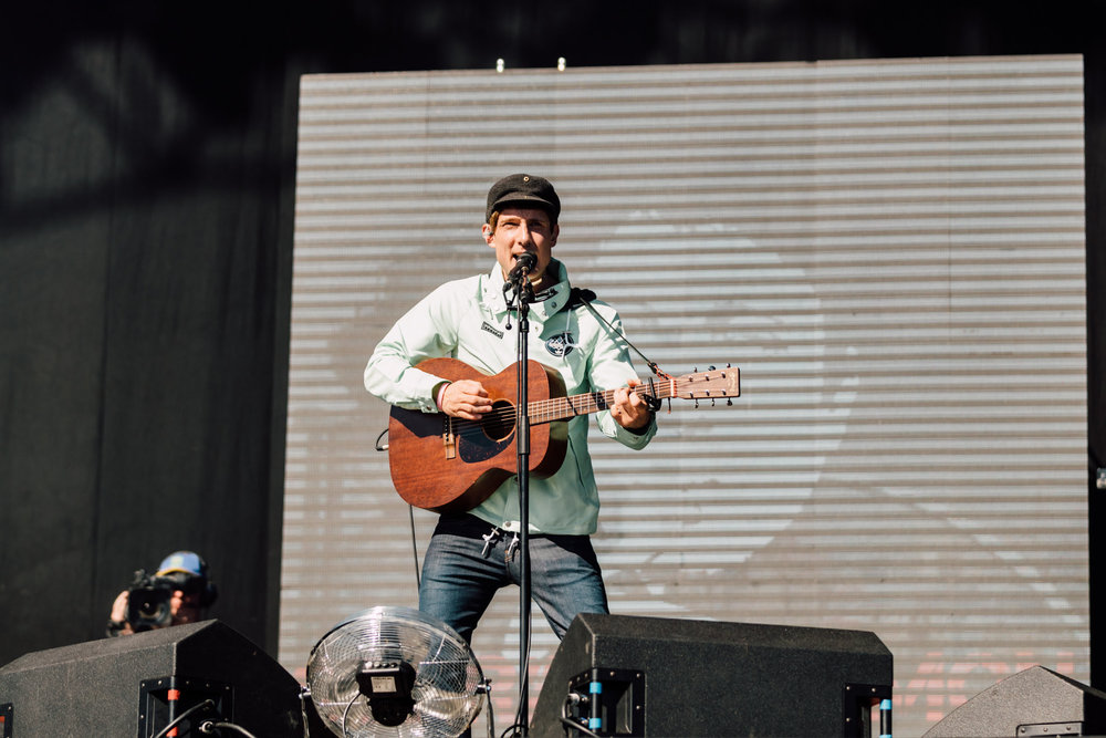 GERRY CINNAMON PERFORMING AT TRSNMT FESTIVAL, GLASGOW GREEN - 30.06.18  PICTURE: RYAN BUCHANAN