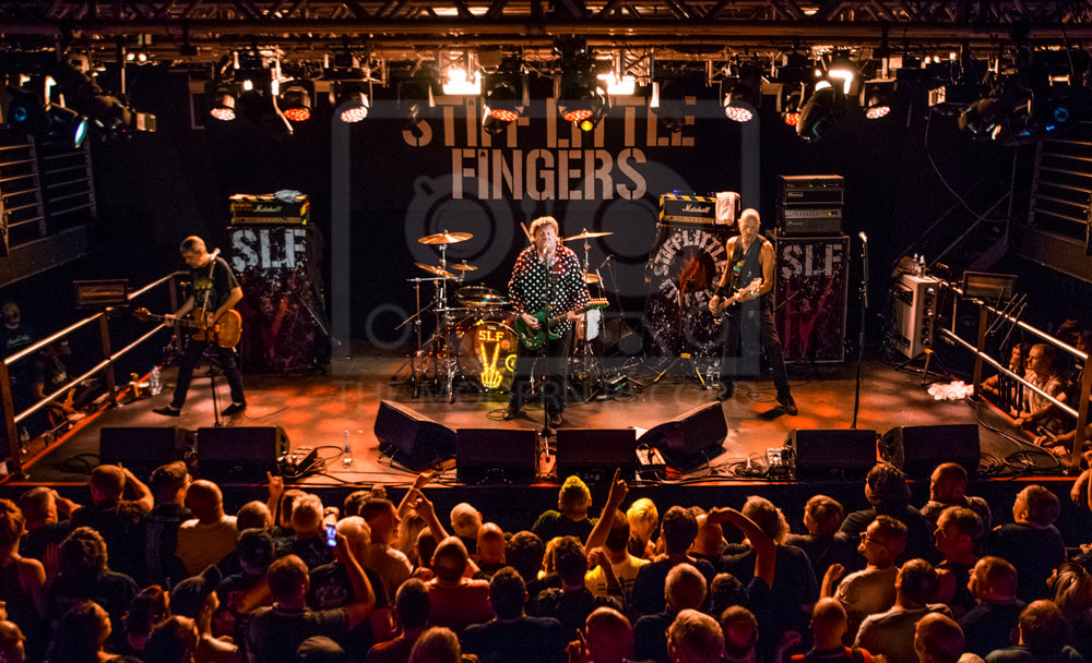 STIFF LITTLE FINGERS PERFORMING AT EDINBURGH'S LIQUID ROOMS - 29.06.2018  PICTURE BY: STEPHEN WILSON PHOTOGRAPHY