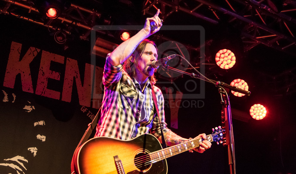 MYLES KENNEDY PERFORMING AT EDINBURGH'S LIQUID ROOMS - 02.07.2018  PICTURE BY: STEPHEN WILSON PHOTOGRAPHY