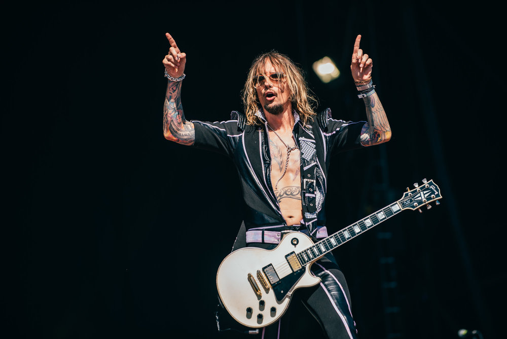 THE DARKNESS PERFORMING AT DAY FOUR OF TRNSMT FESTIVAL - 06.07.2018  PICTURE BY: RYAN JOHNSTON PHOTOGRAPHY