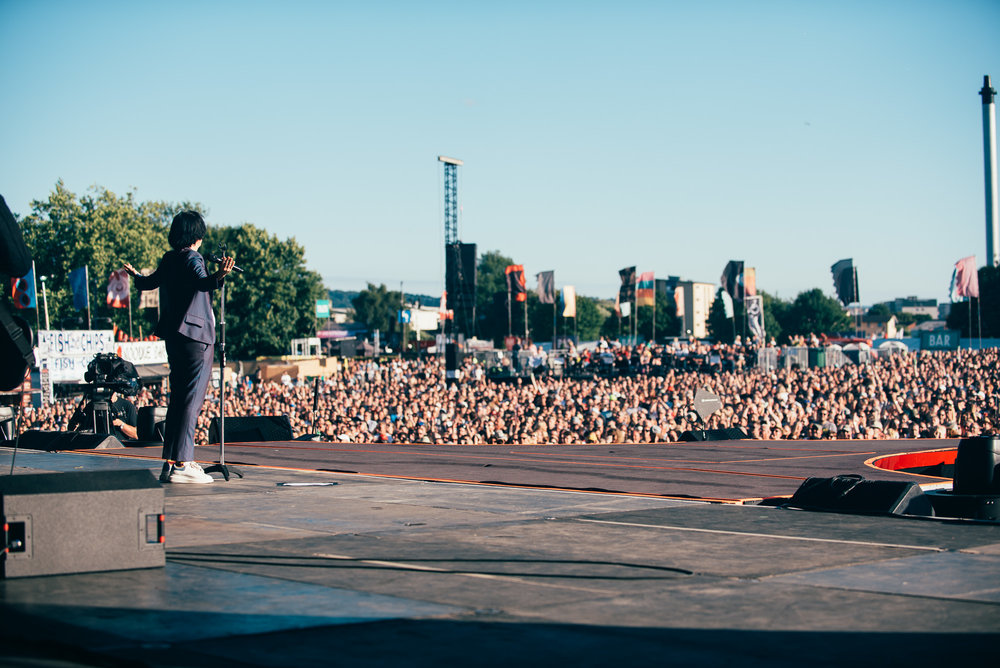 TEXAS PERFORMING AT DAY FOUR OF TRNSMT FESTIVAL - 06.07.2018  PICTURE BY: RYAN JOHNSTON PHOTOGRAPHY