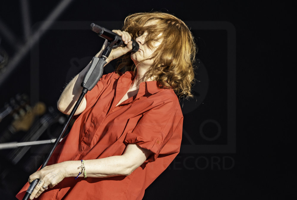 GOLDFRAPP PERFORMING AT DAY TWO OF FIESTA X FOLD FESTIVAL AT KELVINGROVE PARK, GLASGOW - 01.07.2018  PICTURE BY: CALUM BUCHAN PHOTOGRAPHY
