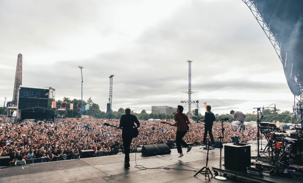 FRANZ FERDINAND PERFORMING AT TRNSMT FESTIVAL 2018 - 08.07.2018  PICTURE BY: RYAN JOHNSTON PHOTOGRAPHY