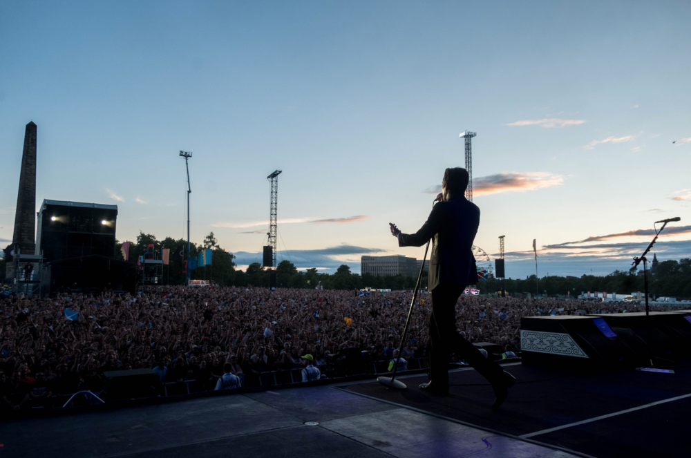 THE KILLERS CLOSING TRNSMT FESTIVAL 2018 ON DAY FIVE - 08.07.2018  PICTURE BY: ROB LOUD PHOTOGRAPHY