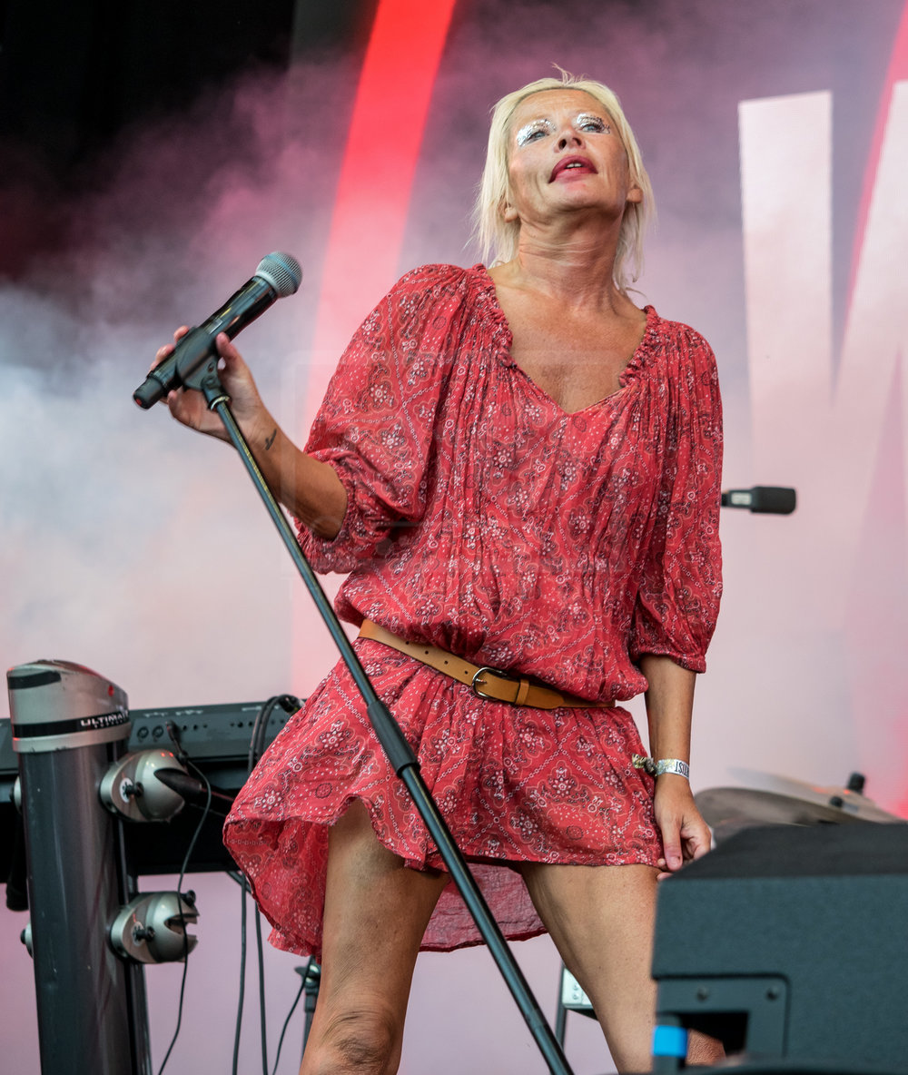 WENDY JAMES PERFORMING AT REWIND! SCOTLAND - SUNDAY - 22.08.2018  PICTURE BY: STEPHEN WILSON PHOTOGRAPHY