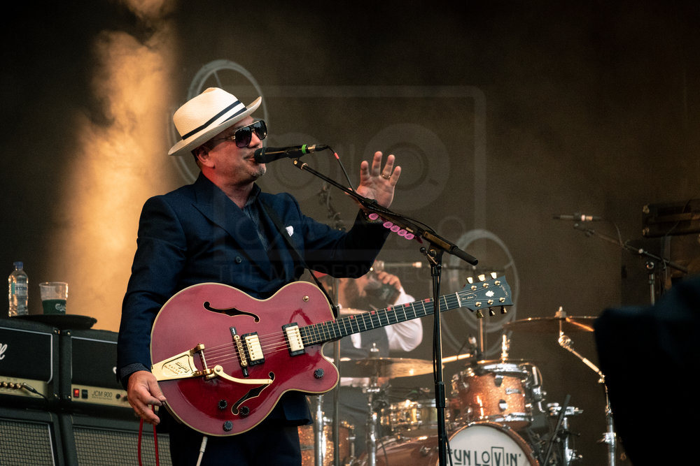 FUN LOVIN' CRIMINALS PERFORMING AT BELLADRUM TARTAN HEART FESTIVAL 2018 - 02.08.2018  PICTURE BY: KENDALL WILSON PHOTOGRAPHY