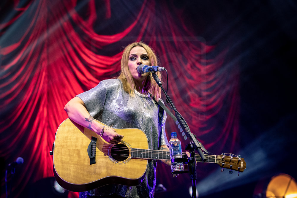 AMY MACDONALD CLOSING THURSDAY AT BELLADRUM TARTAN HEART FESTIVAL 2018 - 02.08.2018  PICTURE BY: KENDALL WILSON PHOTOGRAPHY