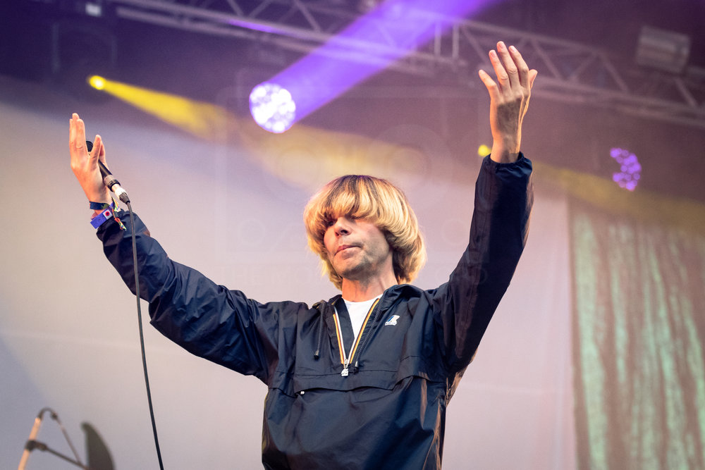 THE CHARLATANS PERFORMING AT BELLADRUM TARTAN HEART FESTIVAL 2018 - 03.08.2018  PICTURE BY: KENDALL WILSON PHOTOGRAPHY