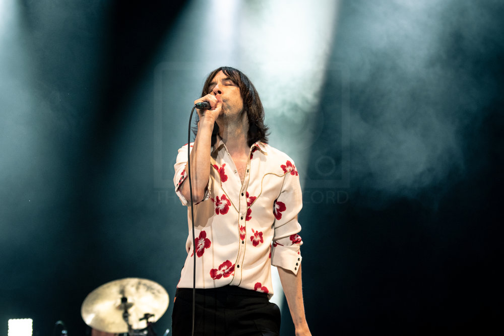 PRIMAL SCREAM CLOSING SATURDAY AT BELLADRUM TARTAN HEART FESTIVAL 2018 - 04.08.2018  PICTURE BY: KENDALL WILSON PHOTOGRAPHY