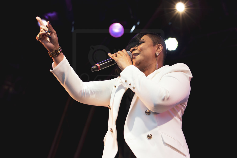 GABRIELLE PERFORMING AT PARTY AT THE PALACE 2018 - 11.08.2018  PICTURE BY: KENDALL WILSON PHOTOGRAPHY