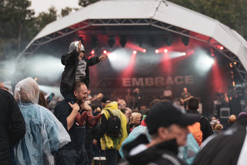 EMBRACE PERFORMING AT PARTY AT THE PALACE 2018 - 12.11.2018  PICTURE BY: KENDALL WILSON PHOTOGRAPHY