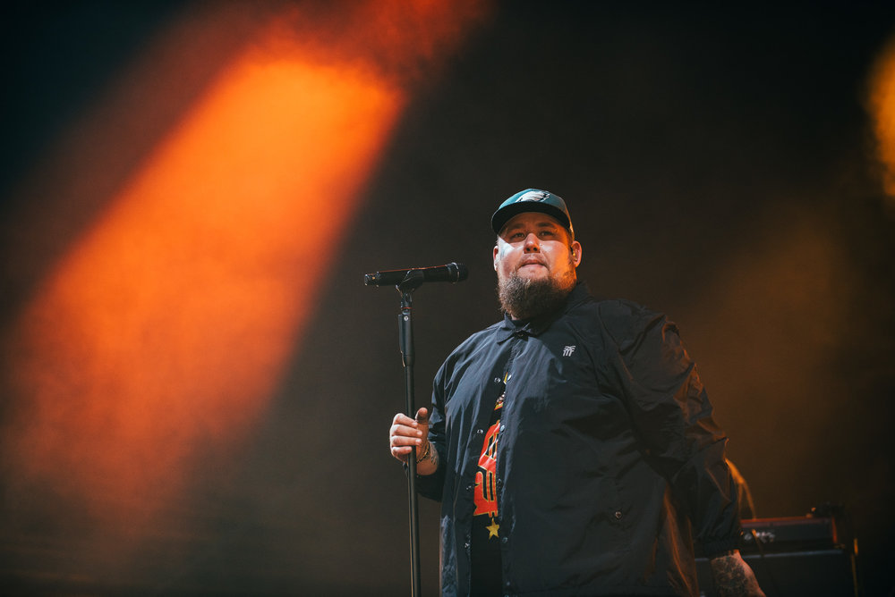 RAG 'N' BONE MAN CLOSING DAY THREE OF EDINBURGH'S SUMMER SESSIONS 2018 - 14.08.2018  PICTURE BY: RYAN JOHNSTON