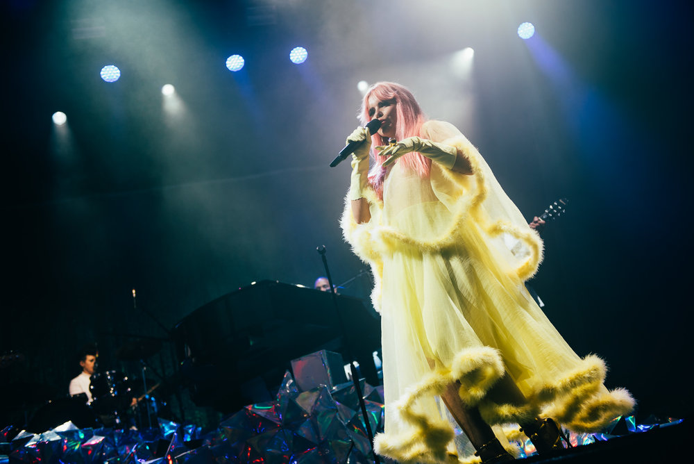 PALOMA FAITH CLOSING DAY FOUR OF EDINBURGH'S SUMMER SESSIONS 2018 - 17.08.2018  PICTURE BY: RYAN JOHNSTON