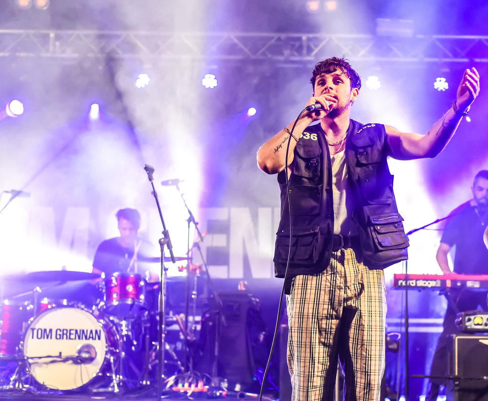 TOM GRENNAN HEADLINING FESTIVAL REPUBLIC STAGE ON FIRST DAY OF LEEDS FESTIVAL 2018 - 24.08.2018  PICTURE BY: CALUM BUCHAN PHOTOGRAPHY