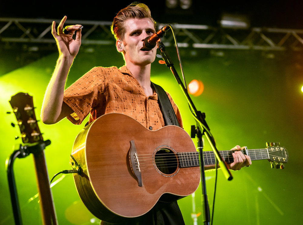 HUDSON TAYLOR BRINGING THEIR FOLK SOUNDS TO FESTIVAL REPUBLIC STAGE ON SECOND DAY OF LEEDS FESTIVAL 2018 - 25.08.2018  PICTURE BY: CALUM BUCHAN PHOTOGRAPHY