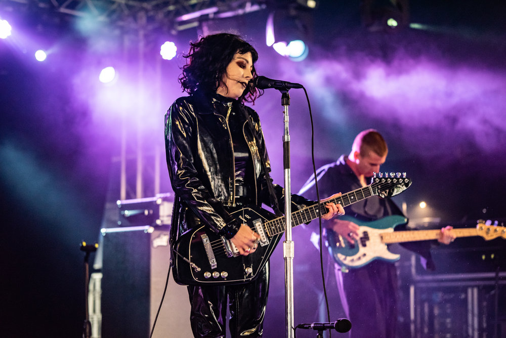 PALE WAVES PERFORMING AT FESTIVAL REPUBLIC STAGE AT LEEDS FESTIVAL 2018- 26.08.2018  PICTURE BY: CALUM BUCHAN PHOTOGRAPHY