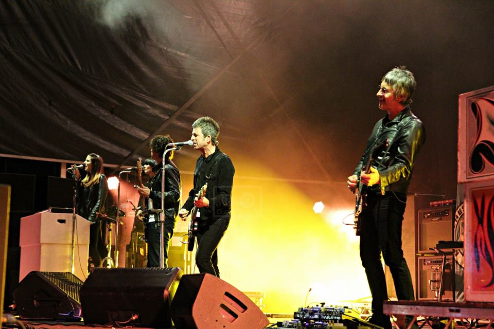 NOEL GALLAGHER'S HIGH FLYING BIRDS CLOSING SECOND DAY OF ELECTRIC FIELDS 2018 - 31.08.2018  PICTURE BY: KRISTEN BRODIE PHOTOGRAPHY