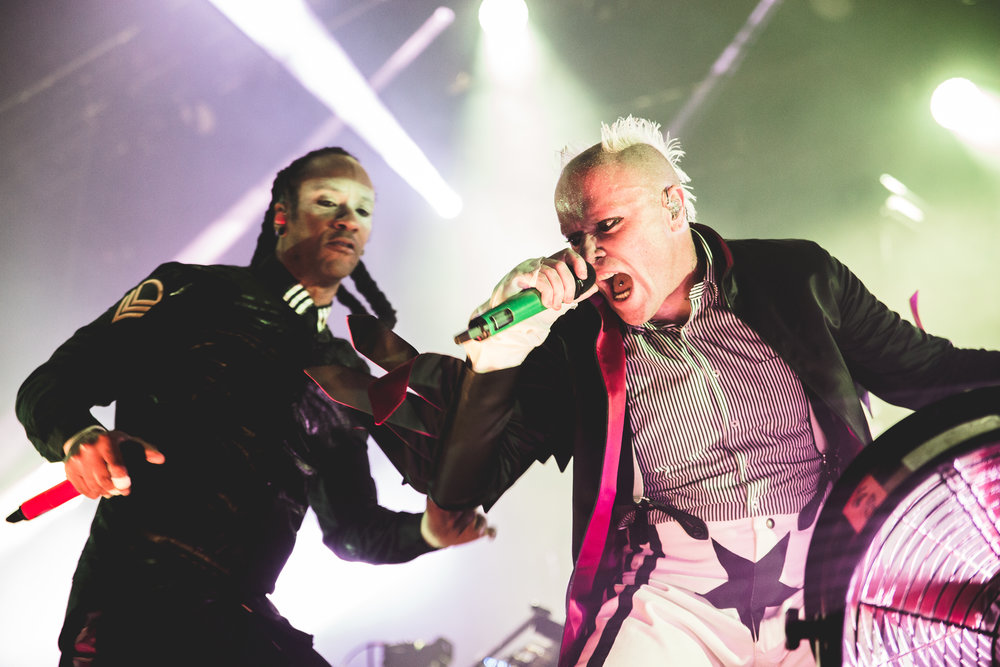 THE PRODIGY PERFORMING AT GLASGOW'S SEC - HALL 4 - KICKING OFF THEIR UK TOUR - 02.11.2018  PICTURE BY; FINDLAY MACDONALD PHOTOGRAPHY