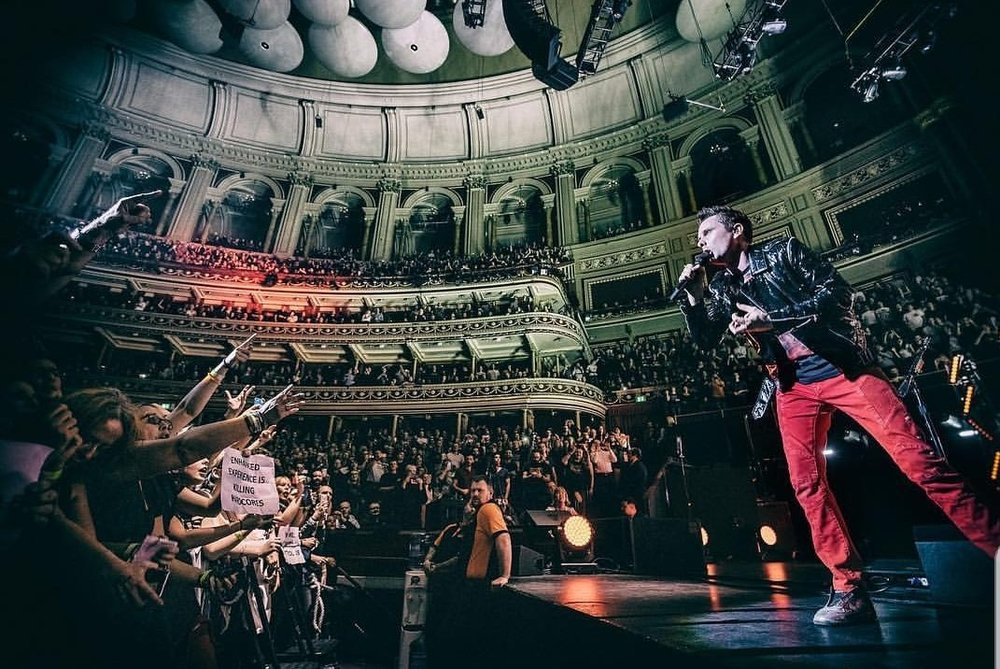 MUSE PERFORMING A CHARITY GIG AT LONDON'S ROYAL ALBERT HALL AS PART OF THE PRINCES TRUST - 03.12.2018  PICTURE BY: HANS-PETER VAN VELTHOVEN PHOTOGRAPHY