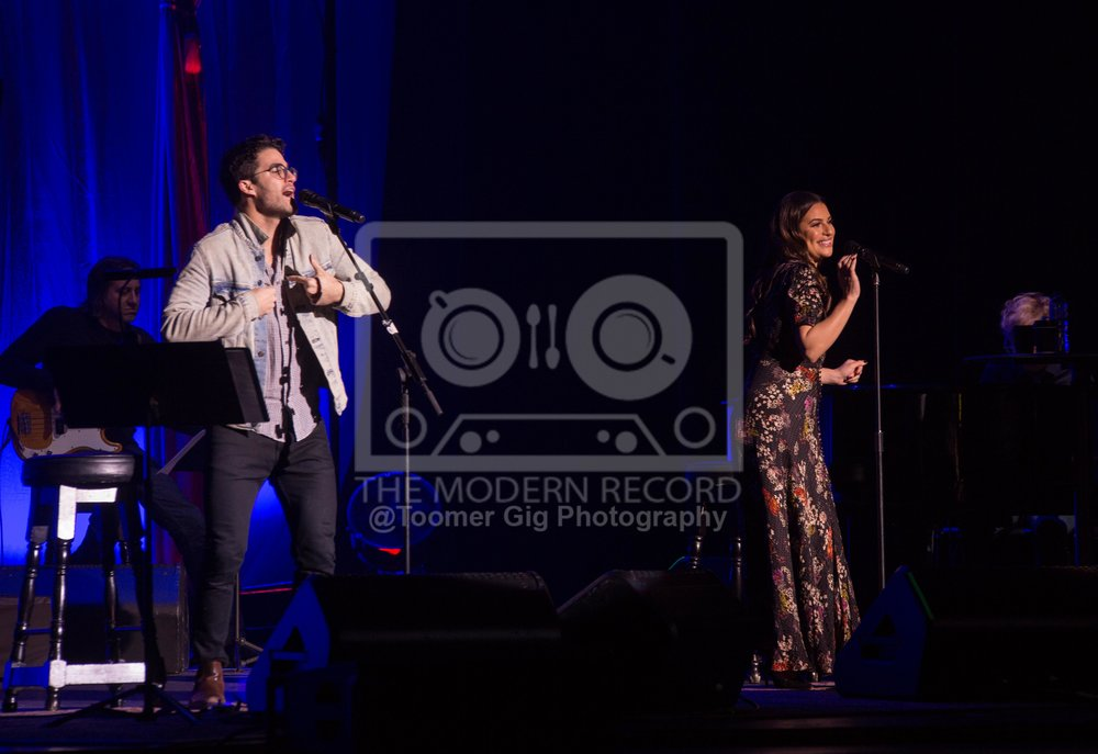 LEA MICHELLE & DARREN CRISS PERFORMING AT MANCHESTER'S O2 APOLLO - 05.12.2018  PICTURE BY: LAURA TOOMER @TOOMERGIGPHOTOGRAPHY