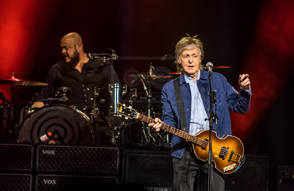SIR PAUL MCCARTNEY PERFORMING AT GLASGOW'S SSE HYDRO AS PART OF HIS 'FRESHEN UP! WORLD TOUR' - 14.12.2018  PICTURE BY: STEPHEN WILSON PHOTOGRAPHY