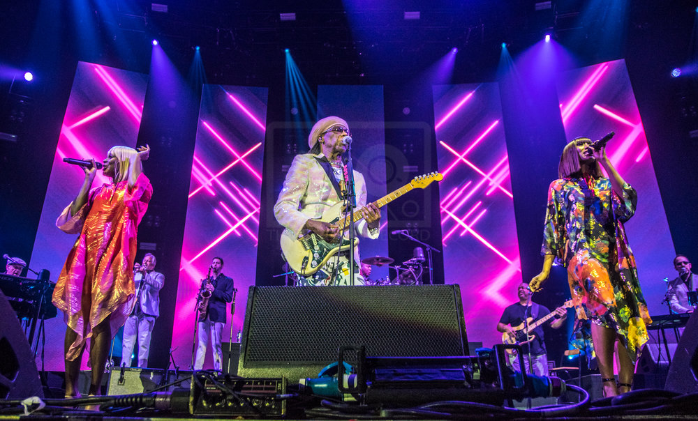 NILE RODGERS & CHIC PERFORMING AT GLASGOW'S SSE HYDRO - 13.12.2018  PICTURE BY: STEPHEN WILSON PHOTOGRAPHY