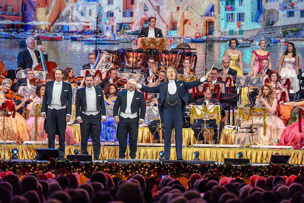 ANDRÉ RIEU PERFORMING AT GLASGOW'S SSE HYDRO - 22.12.2018  PICTURE BY: CALUM BUCHAN PHOTOGRAPHY