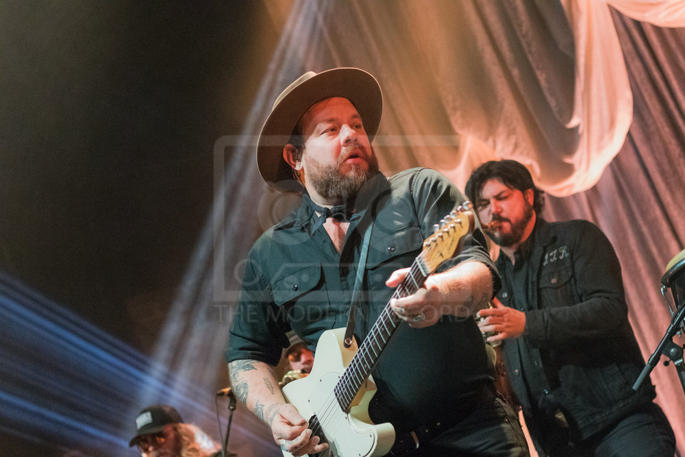 NATHANIEL RATELIFF & THE NIGHT SWEATS PERFORMING AT NEWCASTLE UPON TYNE'S O2 ACADEMY - 21.01.2019  PICTURE BY: WILL GORMAN PHOTOGRAPHY