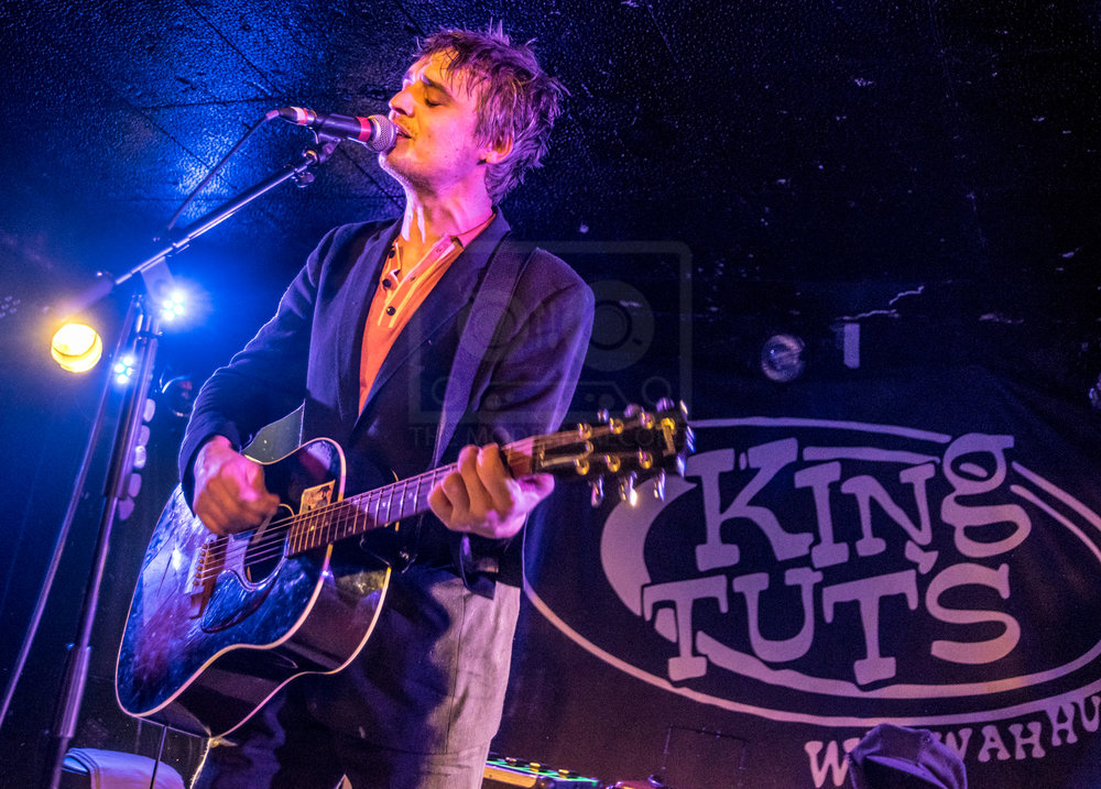PETER DOHERTY PERFORMING AT GLASGOW'S KING TUT'S WAH WAH HUT - 28.01.2019  PICTURE BY: STEPHEN WILSON PHOTOGRAPHY