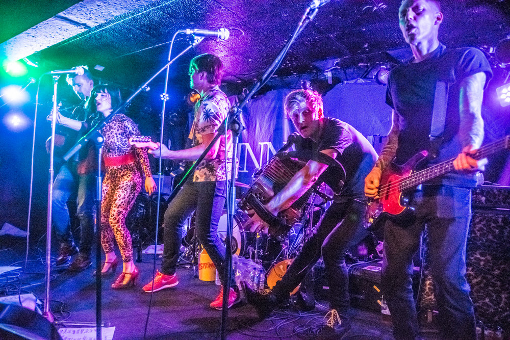 SKINNY LISTER PERFORMING AT GLASGOW'S KING TUT'S WAH WAH HUT - 07.03.2019  PICTURE BY: STEPHEN WILSON PHOTOGRAPHY