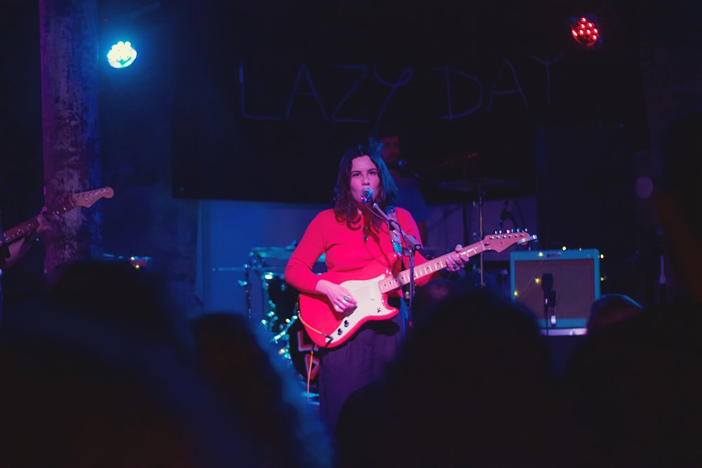 LAZY DAY PERFORMING AT GLASGOW'S STEREO CAFE BAR - 26.03.2019  PICTURE BY: NATHAN PEARSON PHOTOGRAPHY