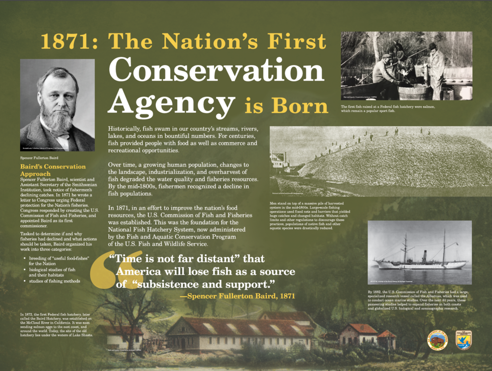 1871: The Nation's First Conservation Agency is Born