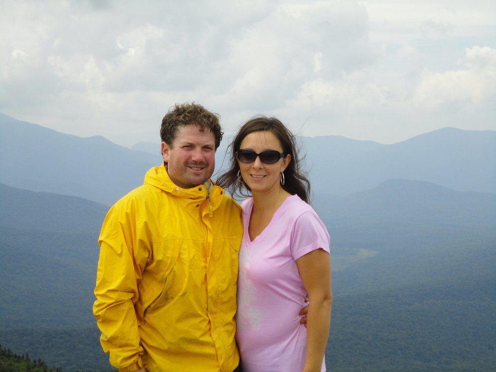 John & his wife Nicole enjoy being active in the Green Mountains of VT