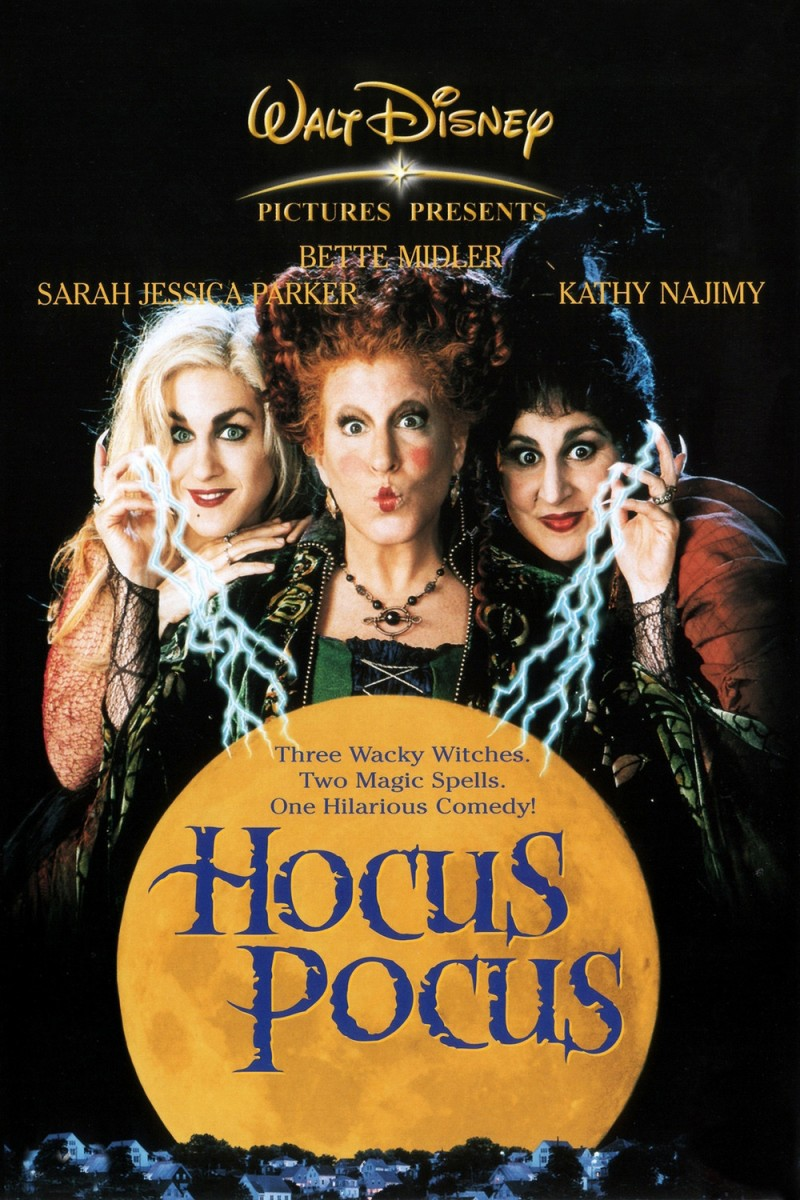 The 10 Best (Not Scary) Fall Movies - Hocus Pocus