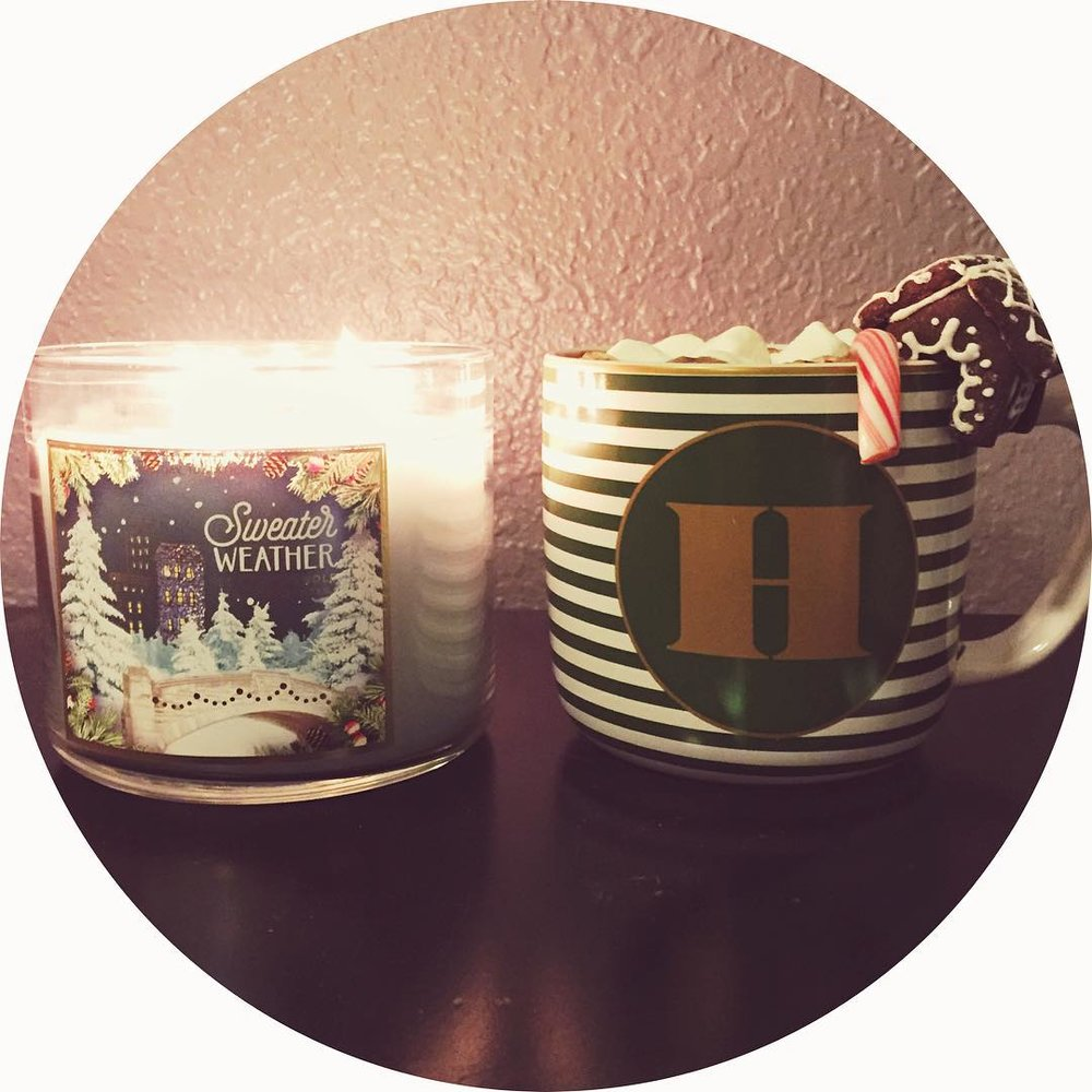 Christmas Bucket List - Holiday Candle