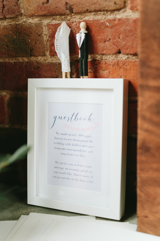 Wedding Decor - Guest Book Ideas