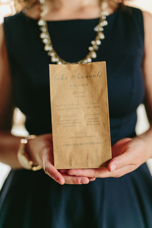 Wedding Decor - Programme