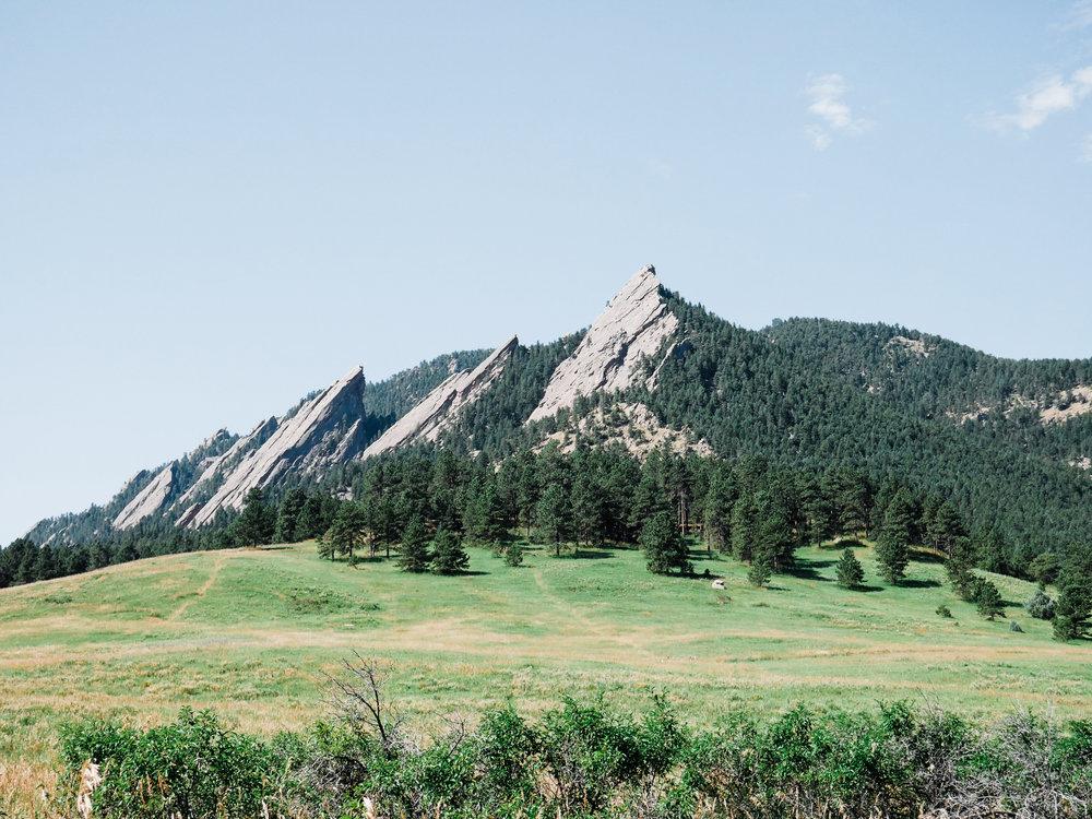 Boulder, Colorado Flatirons
