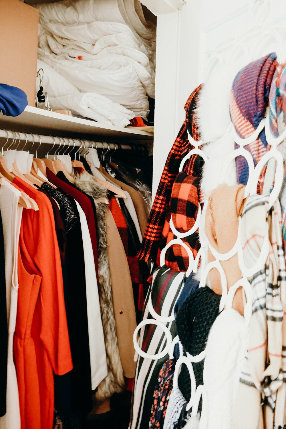 Linen & Coat Closet