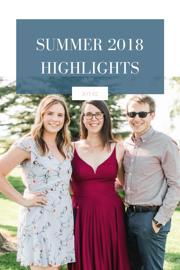 Summer 2018 Highlights