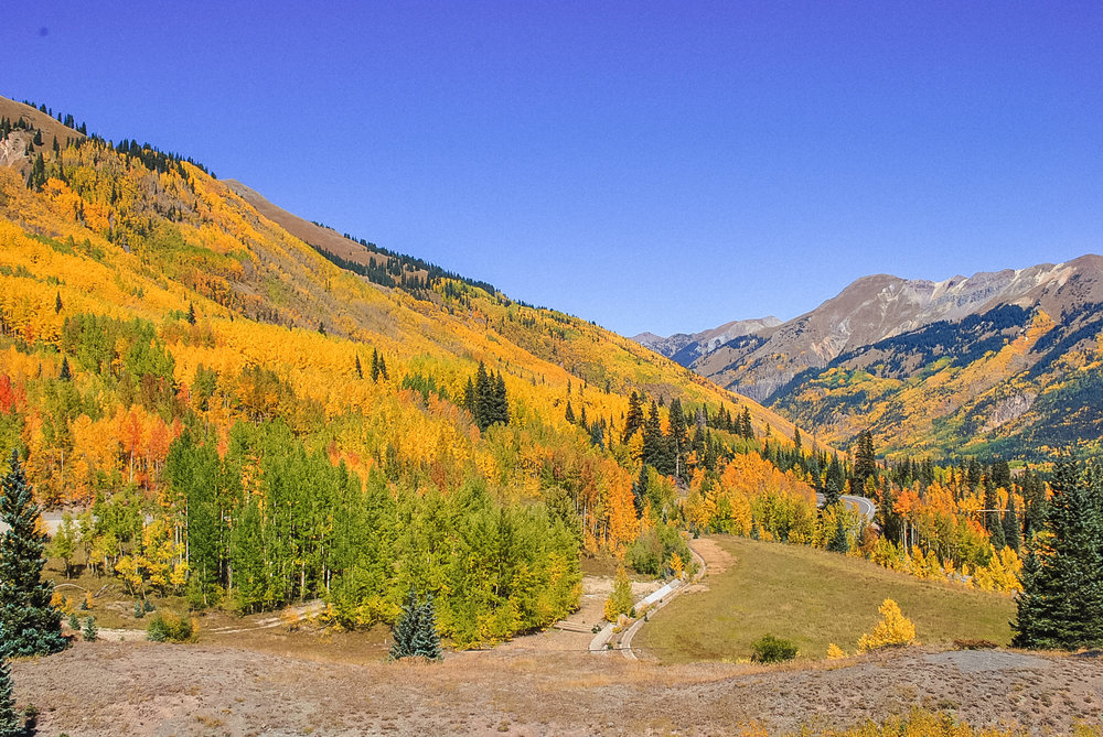 2018 Autumn Bucket List - Million Dollar Highway