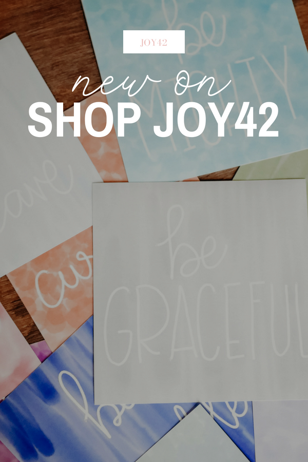 BE | New on Shop Joy42