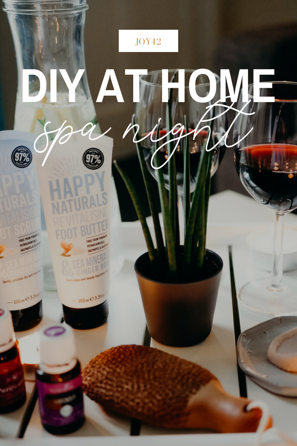 DIY At Home Spa Night - Everything you need for a relaxing, affordable night at home for self care and to reset