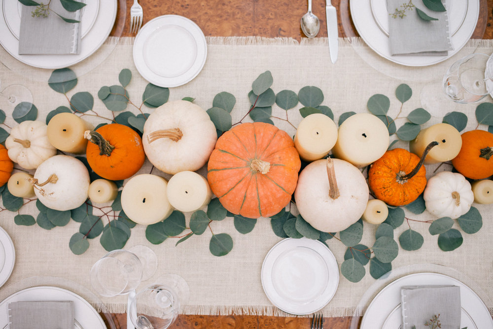 Thanksgiving Tablescape Inspiration from Gal Meets Glam