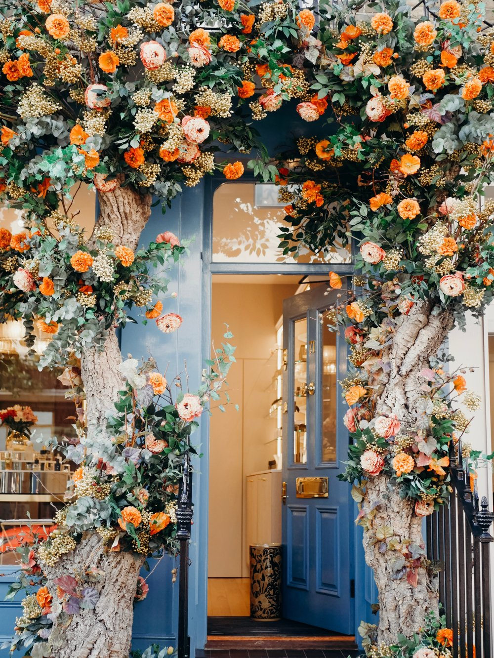 Fall Floral Displays in London