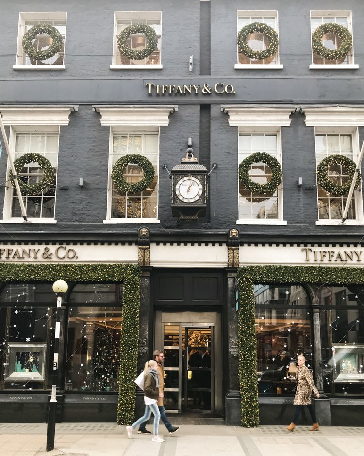 6 Things to Do in London at Christmastime - Tiffany & Co. Old Bond Street